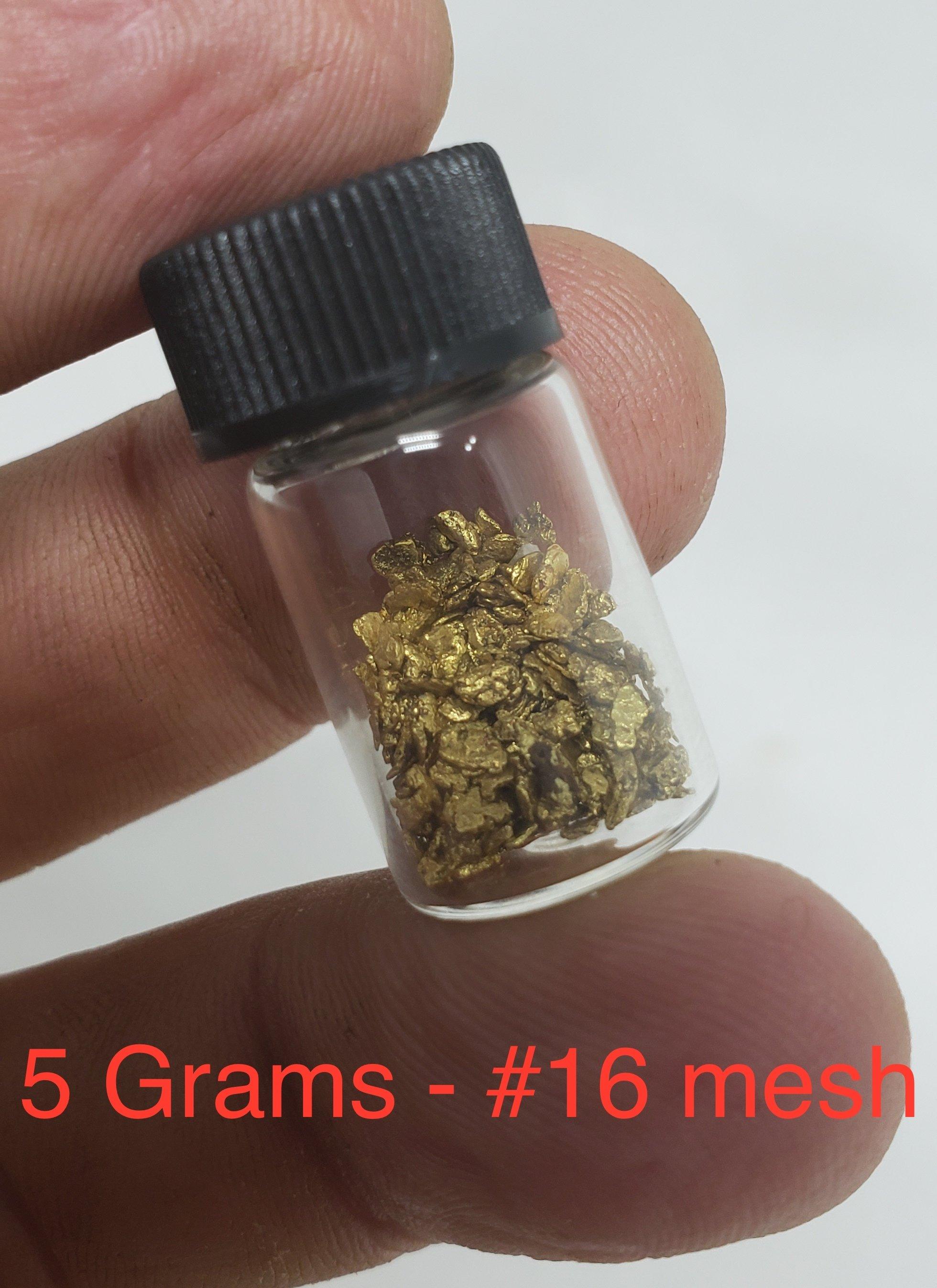 5 grams #16 mesh