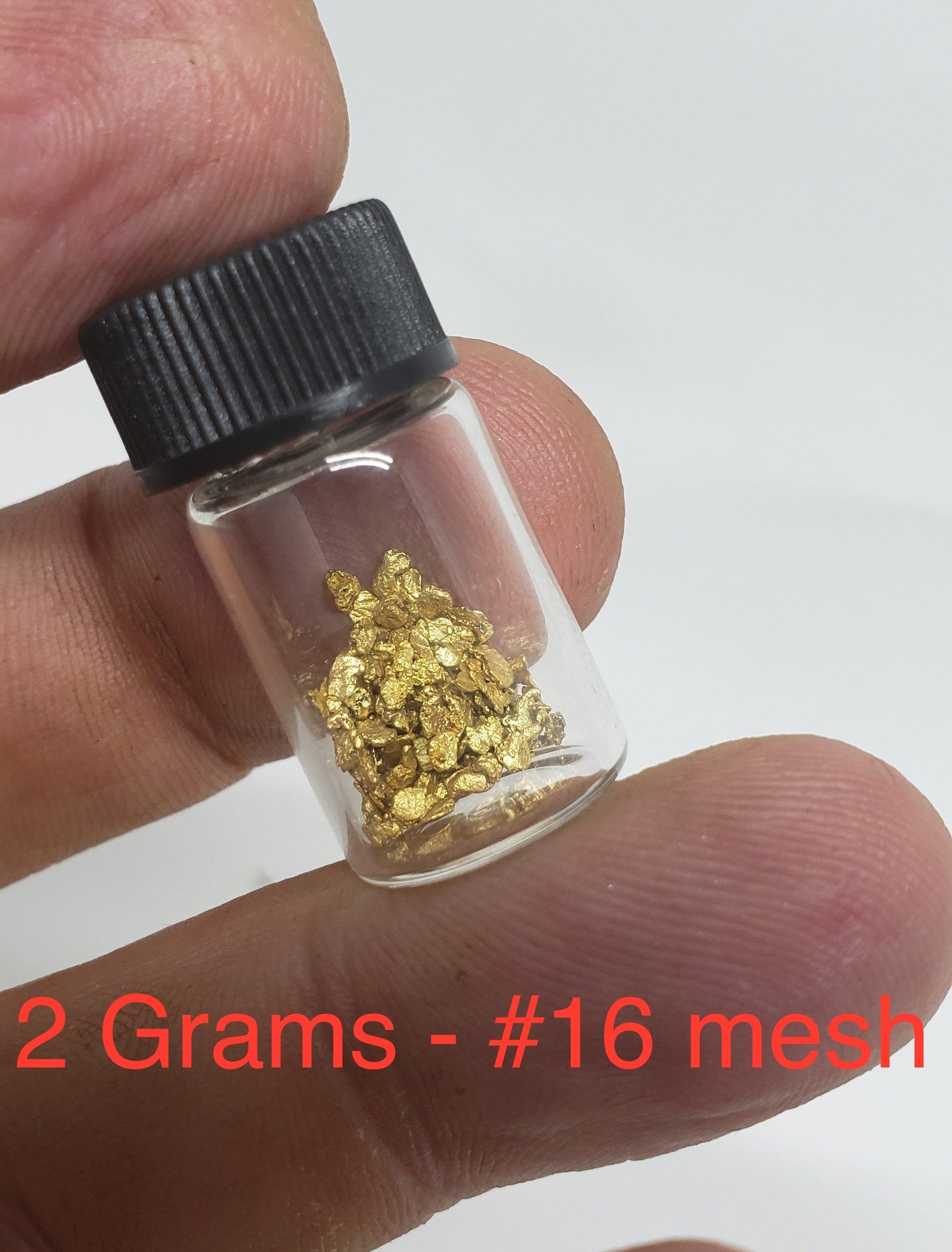 2 grams #16 mesh