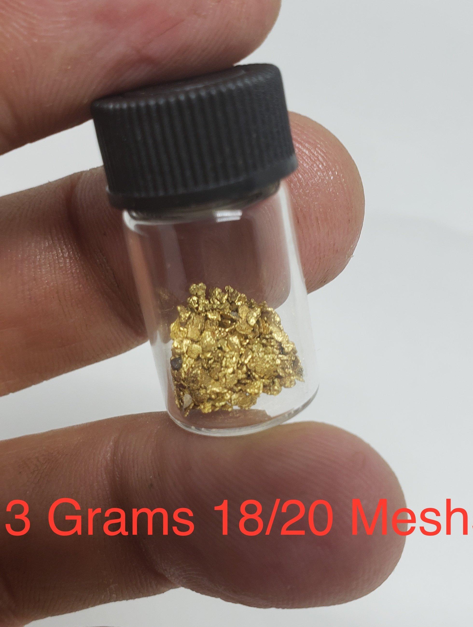 3 grams #18 mesh
