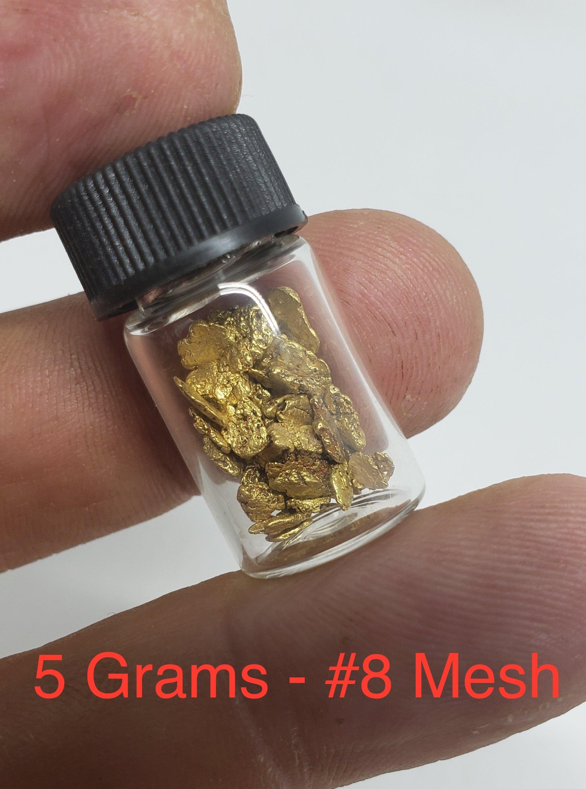 5 grams #8 mesh