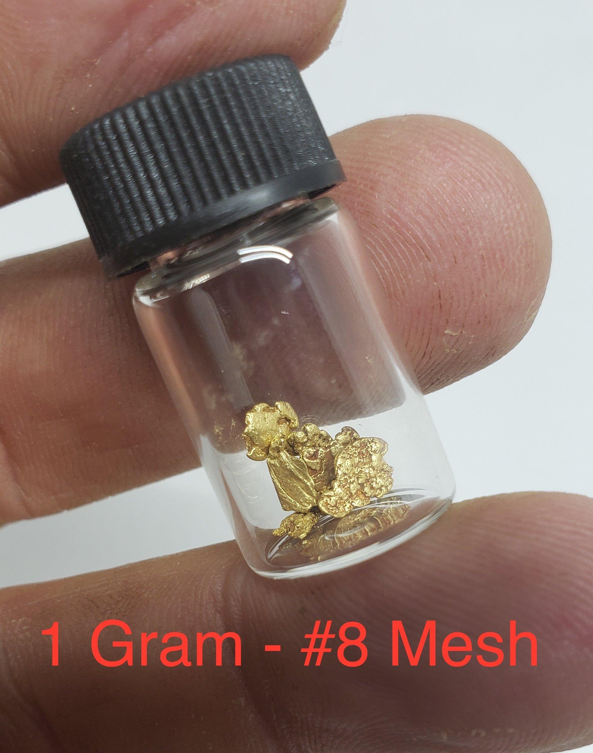 1 gram #8 mesh