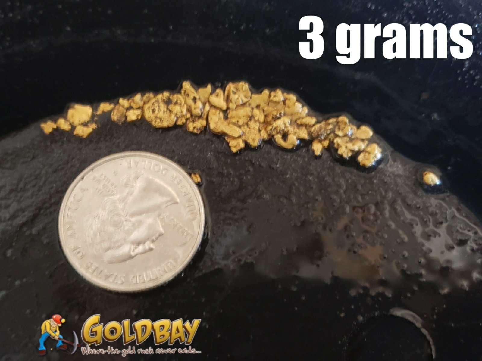 3# Pay Dirt - 3 gram Chunky Paydirt - $49.95 per gram 00009