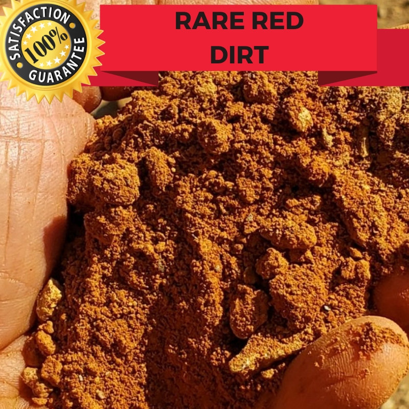 Rare Red Clay Colorado Mine Paydirt