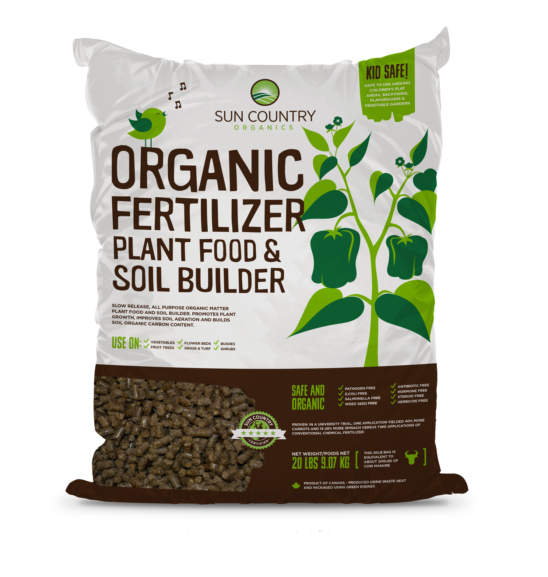 Organic Plant Food & Soil Builder, 20 lb. OP20