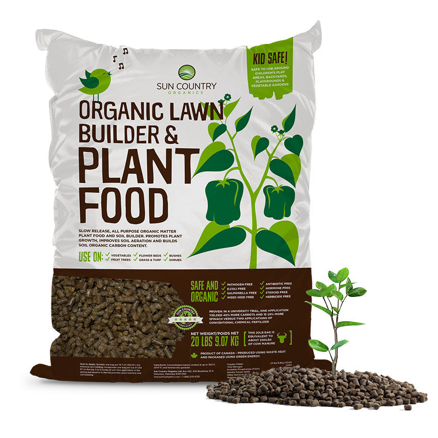 Organic Plant Food and Soil Builder OPF20