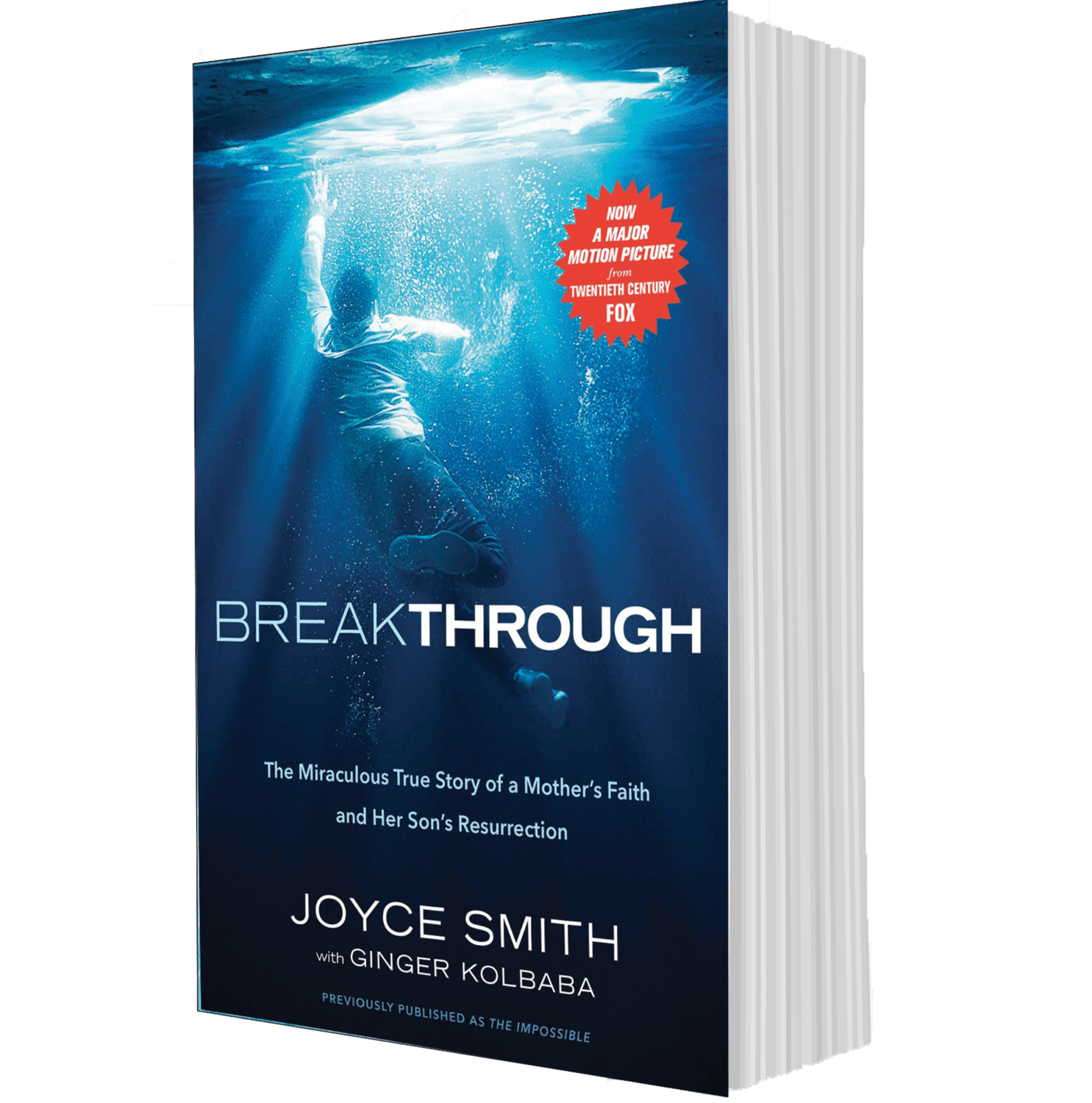 Breakthrough: The Miraculous True Story of a Mother's Faith and Her Child's Resurrection- Autographed Book-Paperback