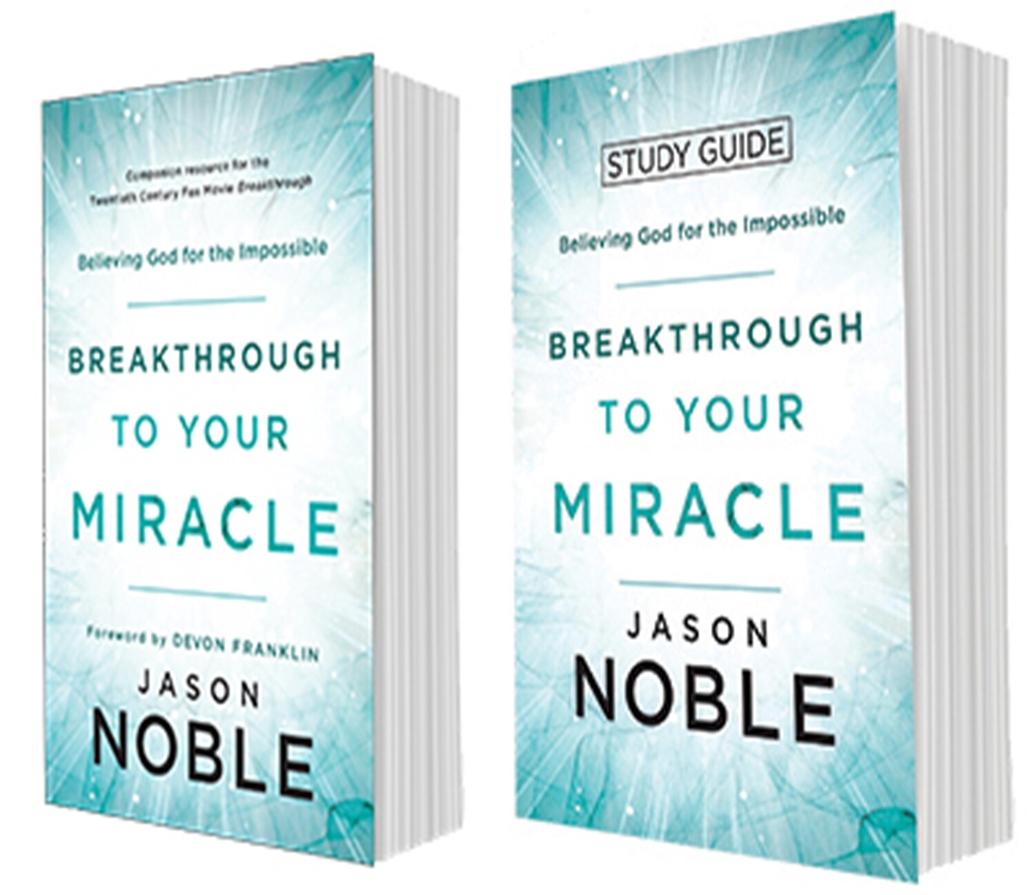 Breakthrough To Your Miracle-Study Package