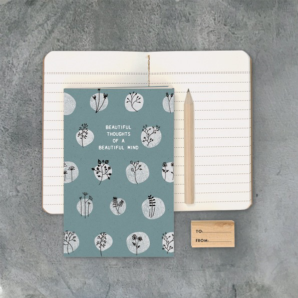 Beautiful Thoughts Of A Beautiful Mind Notebook