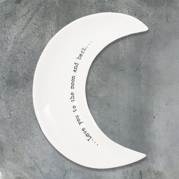 Moon Dish 'love You To The Moon And Back'