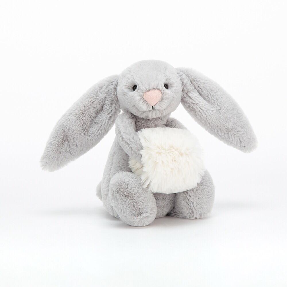 Bashful Silver Snow Bunny
