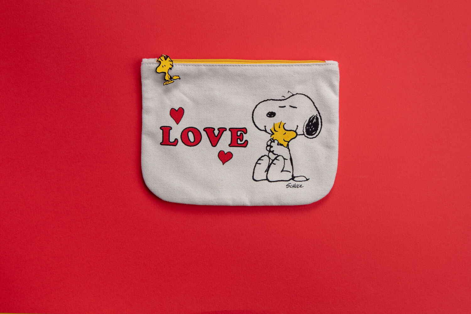 Snoopy Pouch 'love'