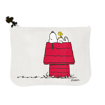 Snoopy Pouch 'house And The Gang'