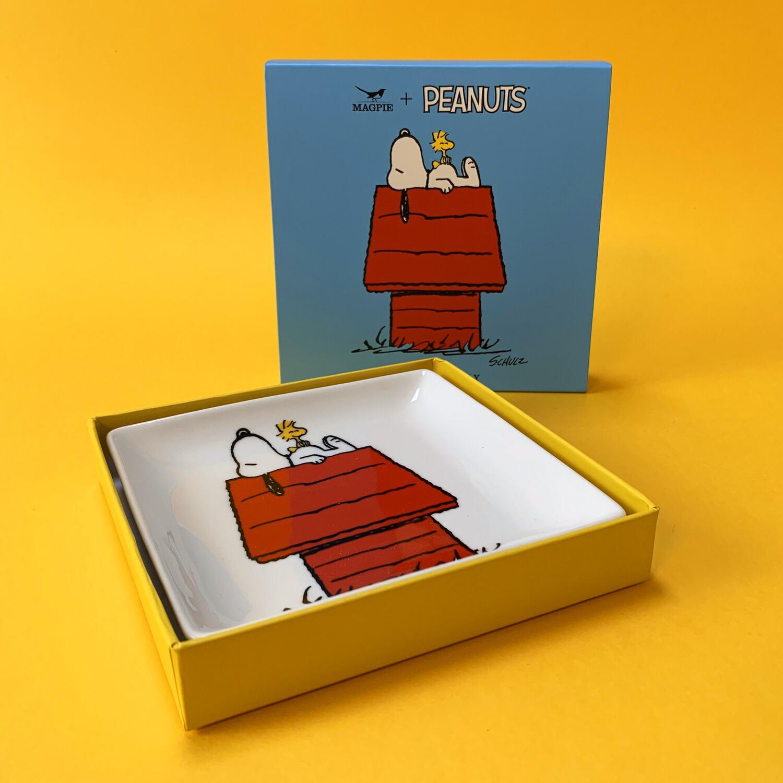 Snoopy Trinket Tray 'house'