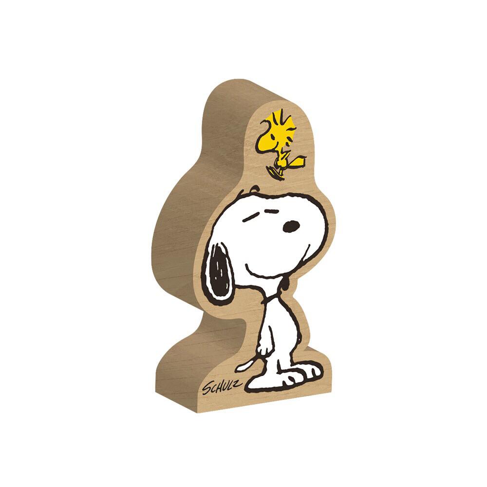 Snoopy And Woodstock Block Figure