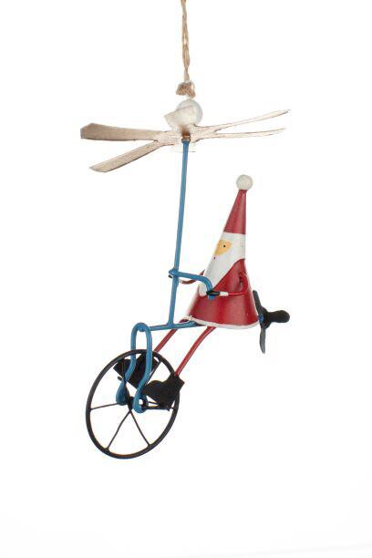Propeller Bike Santa