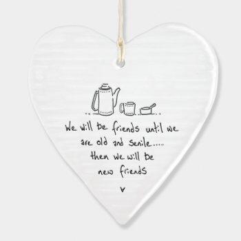 Wobbly round heart - I wish you lived nearer