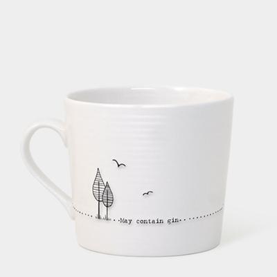 Boxed wobbly mug - 'May contain gin'