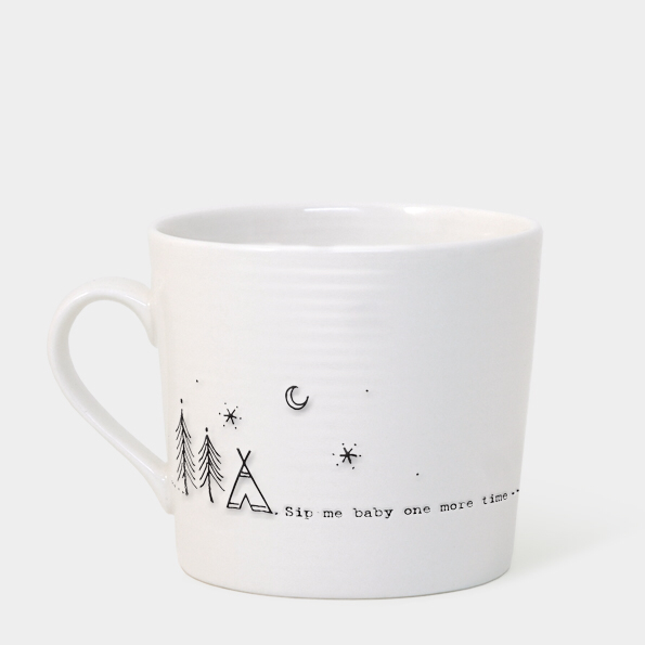 Boxed wobbly mug - 'Sip me baby one more time'