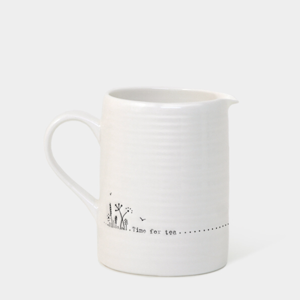 Small boxed jug - 'time for tea'
