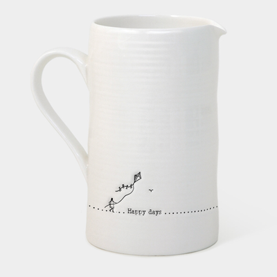 Large boxed mug - 'happy days'