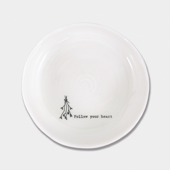 Trinket dish - 'follow your heart'