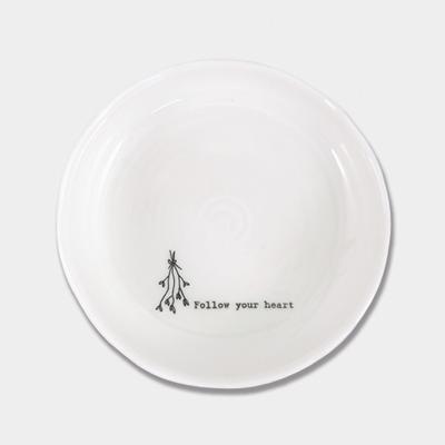 Trinket dish - 'follow your heart'