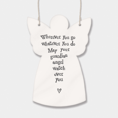 Guardian angel - 'wherever you go whatever you do may guardian angels watch over you'