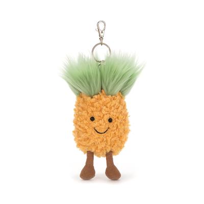 Amuseables pineapple bag charm