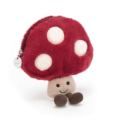 Amuseables mushroom pouch