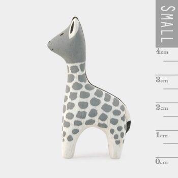 Mini wooden giraffe