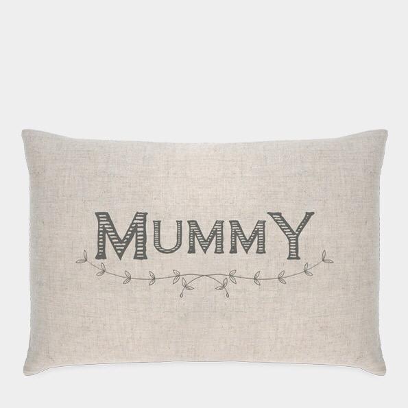 """East of India cushion """" Mummy"""""""