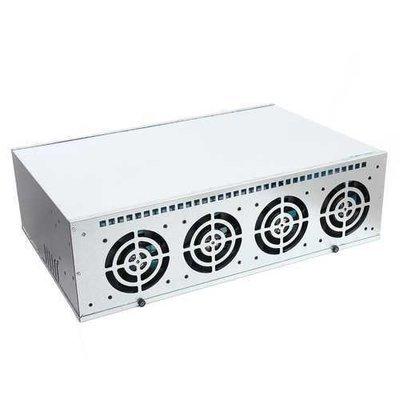 8 GPU Mining Steel Case Frame with 4 Fan For ONDA B250 BTC D8P-D3 Motherboard