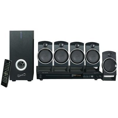 Supersonic(R) SC-37HT 5.1-Channel DVD Home Theater System