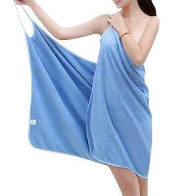 Honana BX-910 Soft Shoulder Straps Lady Wearable Bath Towel Beach Cloth Magic Dress Spa Bathrobe Bath Wrap Skirt