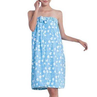 Honana BX-393 Absorbent Wrap Body Bath SPA Women Bathrobe Microfiber Wearable Bath Towel