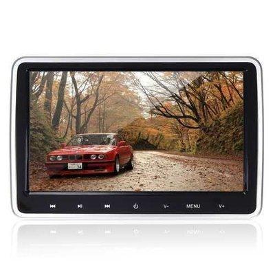 10.1 Inch HD Port Car Video LCD Screen Monitor Pillow Head Rest DVD FM/IR Game Player