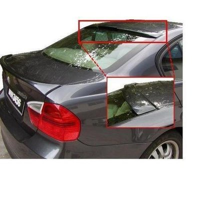 Unpainted 2006-2013 BMW 3 Series Roof Spoiler ACS Style