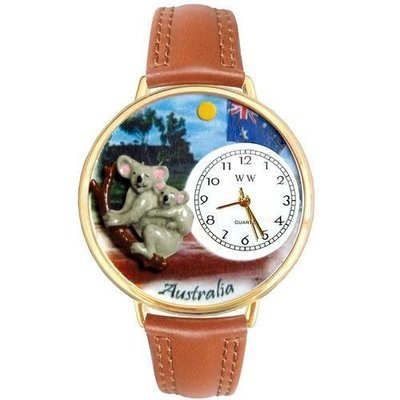 Australia Watch in Gold (Large)
