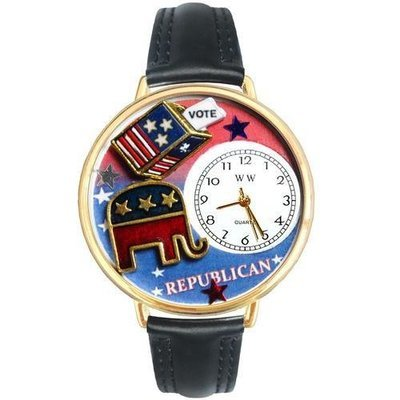 Republican Watch in Gold (Large)
