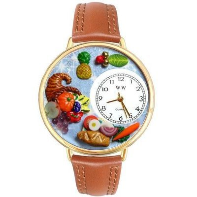 Holiday Feast Watch in Gold (Large)