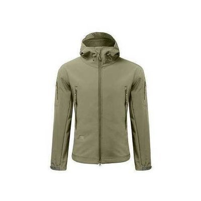 Men Camping Waterproof Windproof Skin Soft Shell Warm Coats Jacket