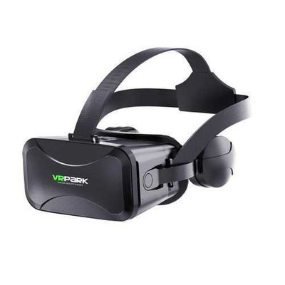 VRPark J30 120 Degree 3D VR Glasses Box with Headphone for 4.5-6.0 Inch Mobile Phone
