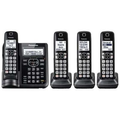 4HS Cordless Telephone ITAD DK Black