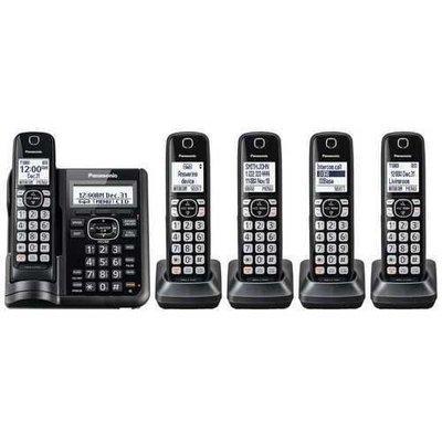 5HS Cordless Telephone ITAD DK Black