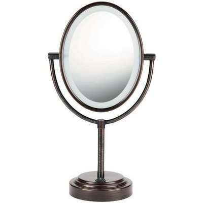 Conair Double-sided Lighted Mirror (oiled Bronze) (pack of 1 Ea)