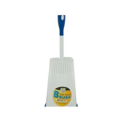 Toilet Cleaner Brush in Caddy ( Case of 6 )