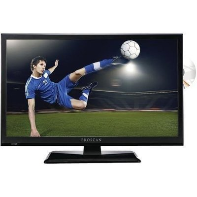 "Proscan 24"" 1080p D-led Hdtv And Dvd Combination (pack of 1 Ea)"