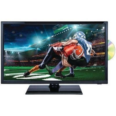 "Naxa 22"" 1080p Led Tv And Dvd And Media Player Combination With Car Package (pack of 1 Ea)"