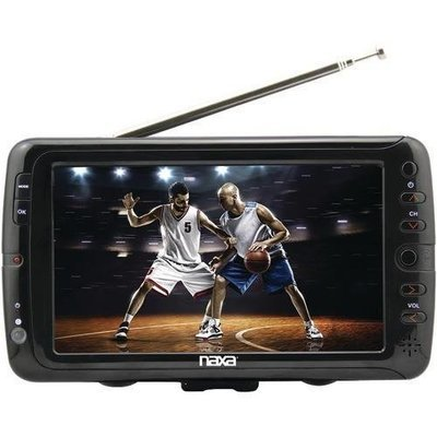 "Naxa 7"" Portable Tv & Digital Multimedia Player (pack of 1 Ea)"