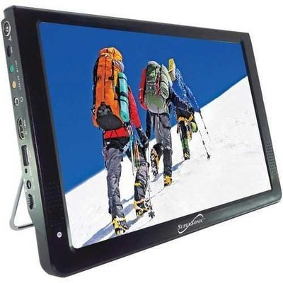 "Supersonic 12"" Portable Lcd Tv, Ac And Dc Compatible With Rv And Boat (pack of 1 Ea)"